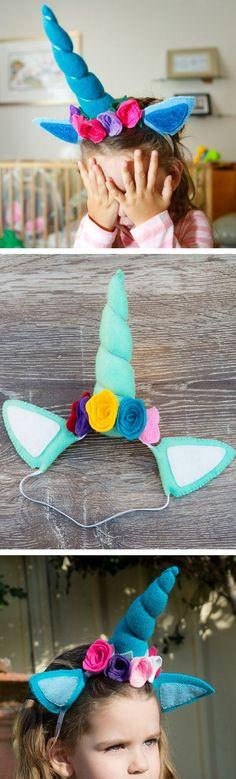 Mint-icorn Unicorn Headband || *Unicorn Dress Up*