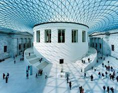 Modern Architecture #buildings #interiors British museum, London