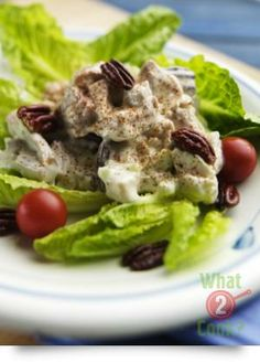 Pecan and Chicken Mint Salad   What2Cook