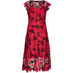 Red lace dress per una speziale