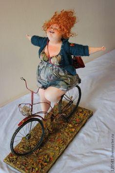 """Коллекционные куклы ручной работы. Ярмарка Мастеров - ручная работа авторская кукла""""Бабье лето"""". Handmade."""