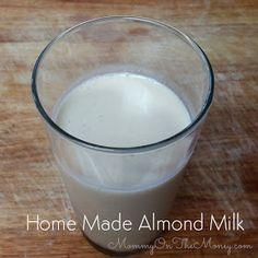 The Right-On Mom Vegan Mom Blog: Easy Almond Milk Made from Almond Butter