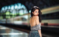 Lataa kuva Delaiah Gonzalez, photomodels, kauneus, ruskeaverikkö