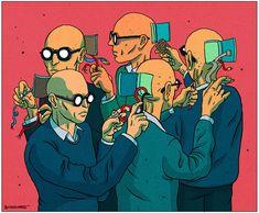 Le Monde - Newspaper Illustration 5