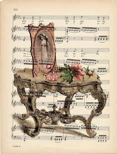 66 new ideas for music piano art vintage sheets Clip Art Vintage, Images Vintage, Vintage Music, Vintage Pictures, Vintage Labels, Vintage Ephemera, Vintage Cards, Vintage Paper, Decoupage Vintage