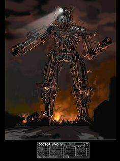 the glory and terror of doctor who's concept art - doctor who - io9