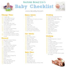 Newborn Checklist (I might need this one day) | Pregnancy ...
