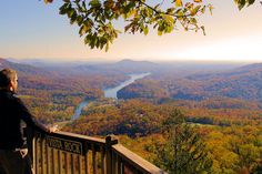 Rutherford County North Carolina, home to Chimney Rock and Lake Lure