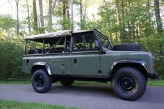 1986 Land Rover Defender 110 Soft Top