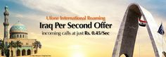 Ufone International Roaming With AsiaCell Network in Iraq