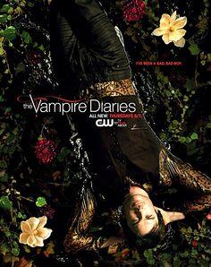 "The Vampire Diaries Ian Somerhalder as ""Damon Salvatore"" Vampire Diaries Season 2, The Vampires Diaries, Vampire Diaries Poster, Vampire Diaries The Originals, The Cw, New Amsterdam, Stefan Salvatore, Paul Wesley, Black Mirror"