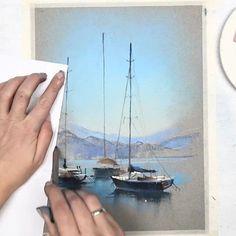 Несмотря на прекрасные вдохновляющие зимние пейзажи и на морозы, накрывшие всю Европу, морские темы остаются в фаворитах Разделяю вашу  к лодкам и морским пейзажам и регулярно выезжаю на пленэры, откуда и привожу вам свои новые впечатления и референсы  За последние 3 года мы с вами рисовали:Черногорию и Адриатическое море;Старинные порты Голландии;Лазурный берег Италии;Легендарный Портофино;Пляжи и крепость КомольеЧинкве терре;Волны атлантического океана;Колоритные...