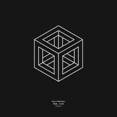 January 30 2018 at from dailyminimal - Logos Cube Design, Shape Design, Icon Design, Logo Design, Geometric Logo, Geometric Designs, Geometric Graphic Design, Cyborg Tattoo, Hexagon Tattoo