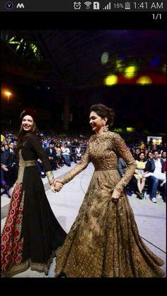 Sabyasachi Divine Glamour Couture Elegance DeepikaPadukone KalkiKoechlin… is part of Indian wedding dress - Pakistani Wedding Dresses, Indian Wedding Outfits, Pakistani Bridal, Bridal Outfits, Indian Bridal, Indian Outfits, Bridal Dresses, Bridal Anarkali Suits, Indian Clothes