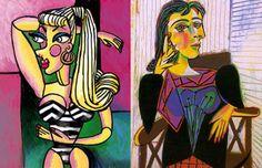 Pablo Picasso, Le portrait de Dora Maar