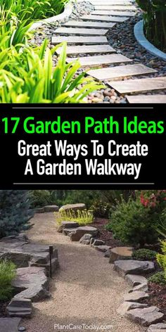 Organic Gardening Supplies Needed For Newbies This Collection Of Garden Path Ideas Shows 17 Simple Garden Walkway Applications From A Modern Garden To An Older Established Creating A Cohesive Design. Unique Garden, Modern Garden Design, Diy Garden, Shade Garden, Garden Paths, Garden Projects, Contemporary Garden, Backyard Walkway, Patio