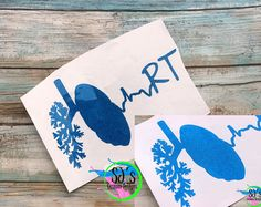 GLITTER Respiratory Therapist decal, rt decal, Respiratory decal,decal, RT decal, RT car decal, Therapist decal, lung decal