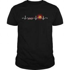 I Love Johnson heatbeat T-Shirts