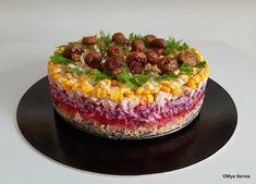 salata poienita reteta pas cu pas savori urbane Alcohol Free, Dessert Recipes, Desserts, Acai Bowl, Salads, Food And Drink, Pudding, Baking, Breakfast