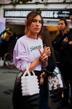 London Fashion by Paul: Street Muses...Alexa Chung