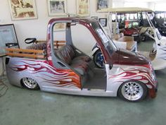 Pimped Out Golf Cart