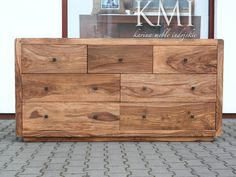 meble kolonialne - komoda z litego drewna z 7 szufladami już można kupić w sklepie Karina Meble Indyjskie. zobacz także  http://karinameble.pl/pl/p/komoda-Apple-LD-498-natural/4316