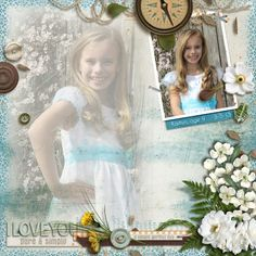 Heavenly Retreat | CT Layout  - click on the image to see the kits/bundle.