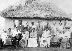Military attaché Charles Young (back row, fourth from right) in either Haiti or Liberia Courtesy of the National Afro-American Museum and Cultural Center, Wilberforce, Ohio. Images may be subject to copyright. Google Search