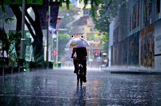 Rain in Singapore, photographer at www.Dannyst.com