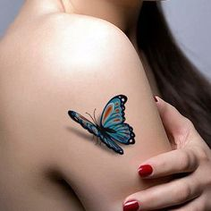 Butterfly Tattoos Designs for Girls (14)