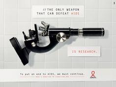 その発想に脱帽!エイズ検査を啓発する秀逸なプリント広告 | AdGang