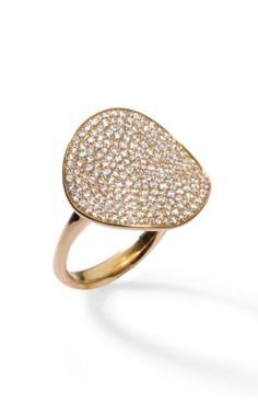 Ippolita Couture yellow gold and diamond ring