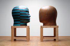 Jun Kaneko (金子 潤 Kaneko Jun, born is a Japanese ceramic artist living in Omaha, Nebraska, in the United States. His works in clay explore the effects Ceramic Figures, Ceramic Artists, Japanese Ceramics, Museum Of Contemporary Art, Art Object, Artist Art, Three Dimensional, Jun, Sculpture Art