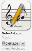 Lernen mit den neuen Medien: Spielerisch Noten lernen mit Apps - Note-A-Lator, ...