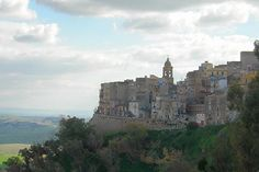 Caltanissetta, inland township that you will drive past if travelling from Palermo to Agrigento. Regions Of Italy, Sicily Italy, Southern Italy, Palermo, Beautiful Beaches, Old Town, Monument Valley, Mount Rushmore, Places To Visit