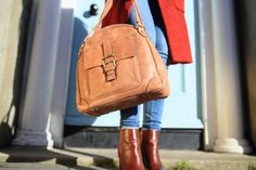 The Tan Aine is a multifunctional handbag that lets the exquisite leather make all the impact. Made in the finest calfskin leather with antique brass hardwear. Tan Leather Handbags, Tan Handbags, Luxury Handbags, Leather Crossbody Bag, Leather Backpack, Leather Bag, Tan Tote Bag, Leather Handle, My Bags
