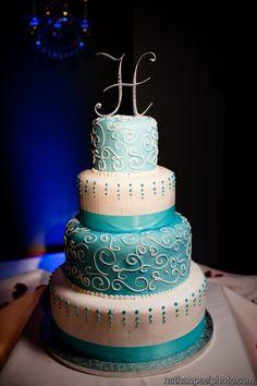 Tiffany Blue Wedding | Wedding cake Tiffany blue cake | weddingsss