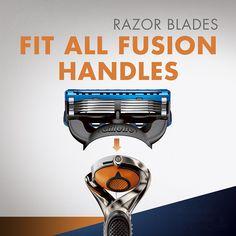 Amazon.com: Gillette Fusion ProGlide Manual Men's Razor Blade Refills, 8 Count: Beauty