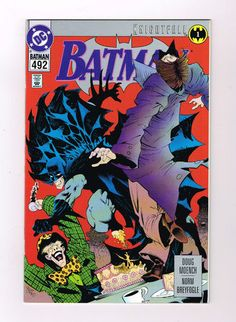 BATMAN #492 GRADE 9.4! Modern Age find! Knightfall part 1 from DC Comics! http://r.ebay.com/uwu8tt