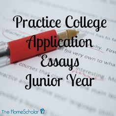 college admissions essay sample