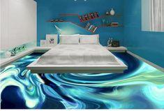 Awesome 3D flooring art and 3D bathroom floor murals                                                                                                                                                                                 More
