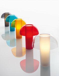 Polycarbonate table lamp COLETTE by PEDRALI | design Alberto Basaglia, Natalia Rota Nodari