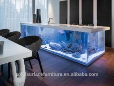 2015 vente chaude Surface solide acrylique comptoir de Bar Aquarium réservoir de poissons, Comptoir de Bar utilisé, Led lumineux comptoir de Bar-image-Tables de bar-Id du produit:60227953668-french.alibaba.com