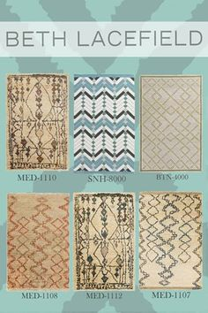 Beth Lacefield is known for her enchanting modern designs and globally inspired aesthetic. Click here to browse her full rug collection for Surya: www.surya.com/designers/beth-lacefield/ Lacefield