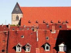 Country | Germany Red Roofs Image   -  Authentic german recipes