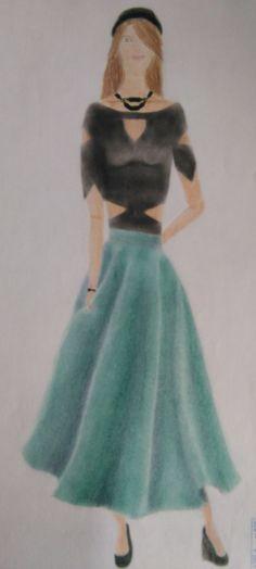 18. Proporción: ilustración de moda.