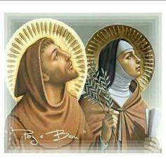 Santa Clara, Francis Of Assisi, St Francis, Clare Of Assisi, San Francisco, Catholic Saints, Christianity, Religion, Princess Zelda