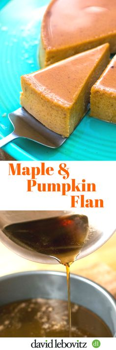 This easy flan has the smooth richness of pumpkin topped with a maple caramel that creates a delicious sauce. A great holiday dessert- best made in advance!