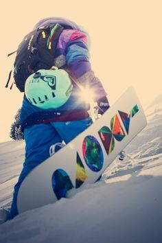 I would love to snowboard if someone ever taught me. I bet I would be SO bad at it...:D