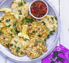 Crispy vegetable fritters with tangy dip that everyone will love - perfect as a summer BBQ side